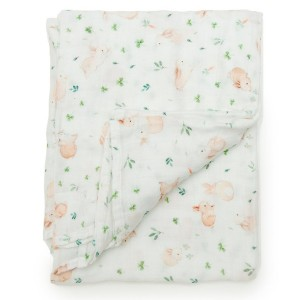 LouLou Lollipop Swaddle Bunny Meadow