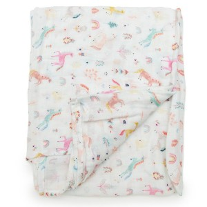 LouLou Lollipop Swaddle Unicorn