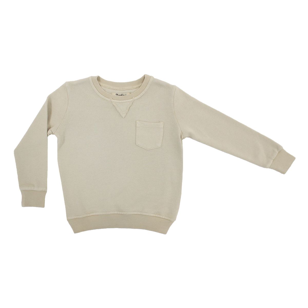 Nupkeet Unicco Sweatshirt in Beige