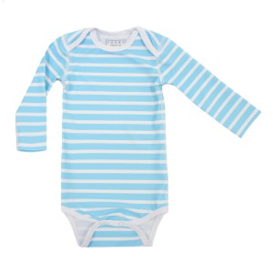 Cover Swim x The Tot Long Sleeve One Piece in Blue Stripe