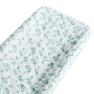 Lewis Home Changing Pad Cover Radish-Agave