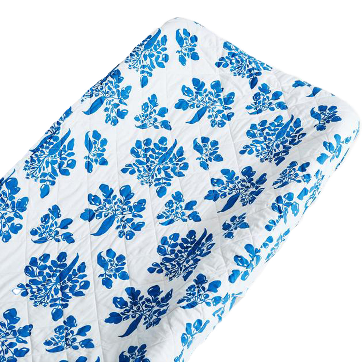 Lewis Home Changing Pad Cover Parsnip-Marine