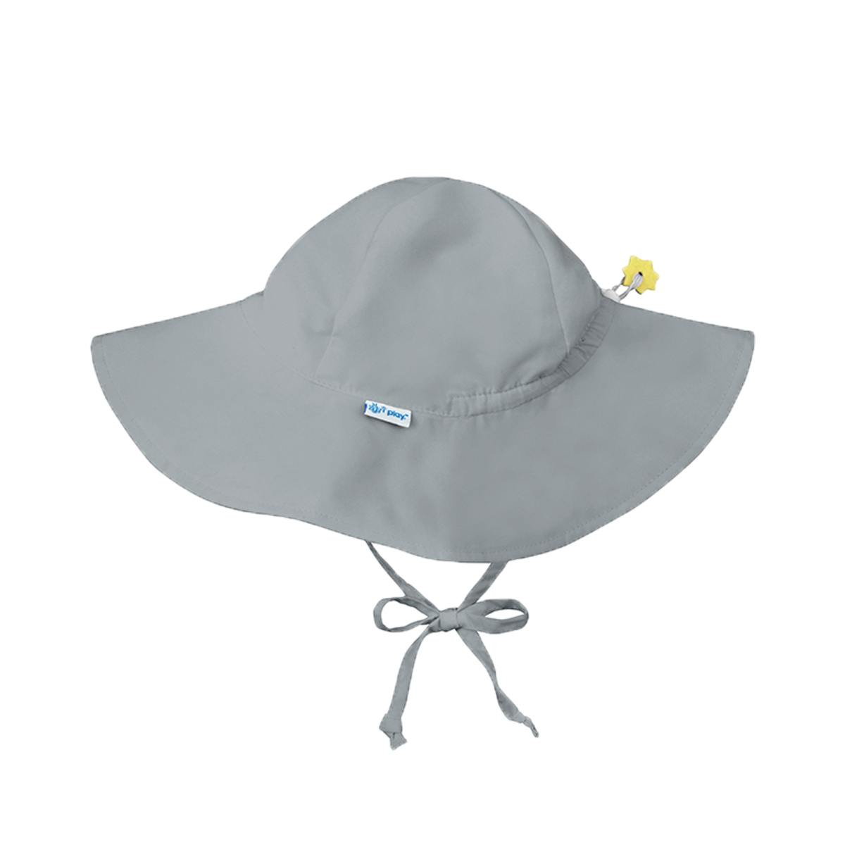 Green Sprouts Brim Sun Protection Hat in Grey