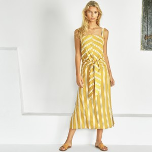 Sancia SS19 Dress Lieke Knot Zippora Stripe