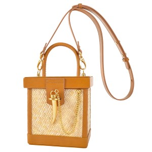 Sancia SS19 Purse Lechelle Mini Cognac
