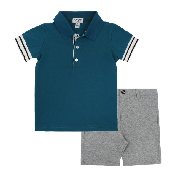 CrewSS19PoloStripeCuffTeal2