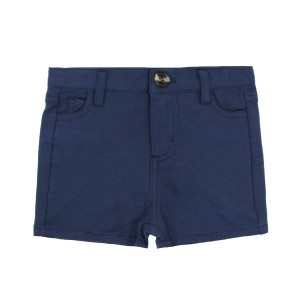 Crew Knit Shorts in Blue