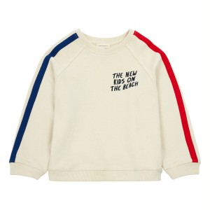 Hundred Pieces Tape Sweatshirt in Off White