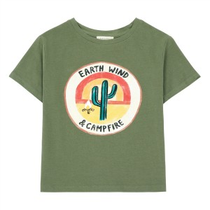 Hundred Pieces Earth Wind Campfire T-Shirt