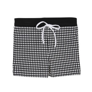 Marysia SS19 Bumby Boy Shorts Midi Black Gingham