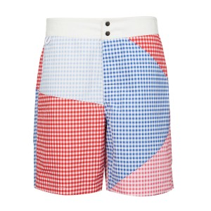 Marysia Mens SS19 Hamptons Shorts Multi Color Gingham
