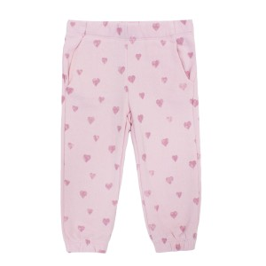 Spiritual Gangster Hearts Sweat Pant in Pink