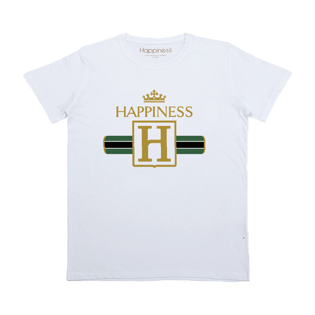 Happiness Short Sleeve Happiness T-Shirt in White