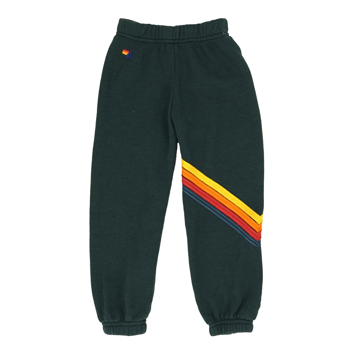 Aviator Nation Chevron 4 Sweatpant in Charcoal
