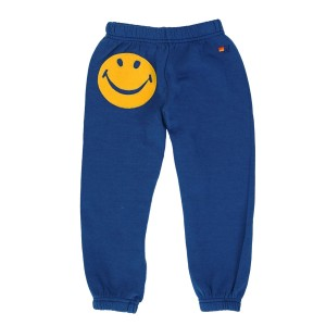 Aviator Nation Smiley Sweatpant in Royal Blue