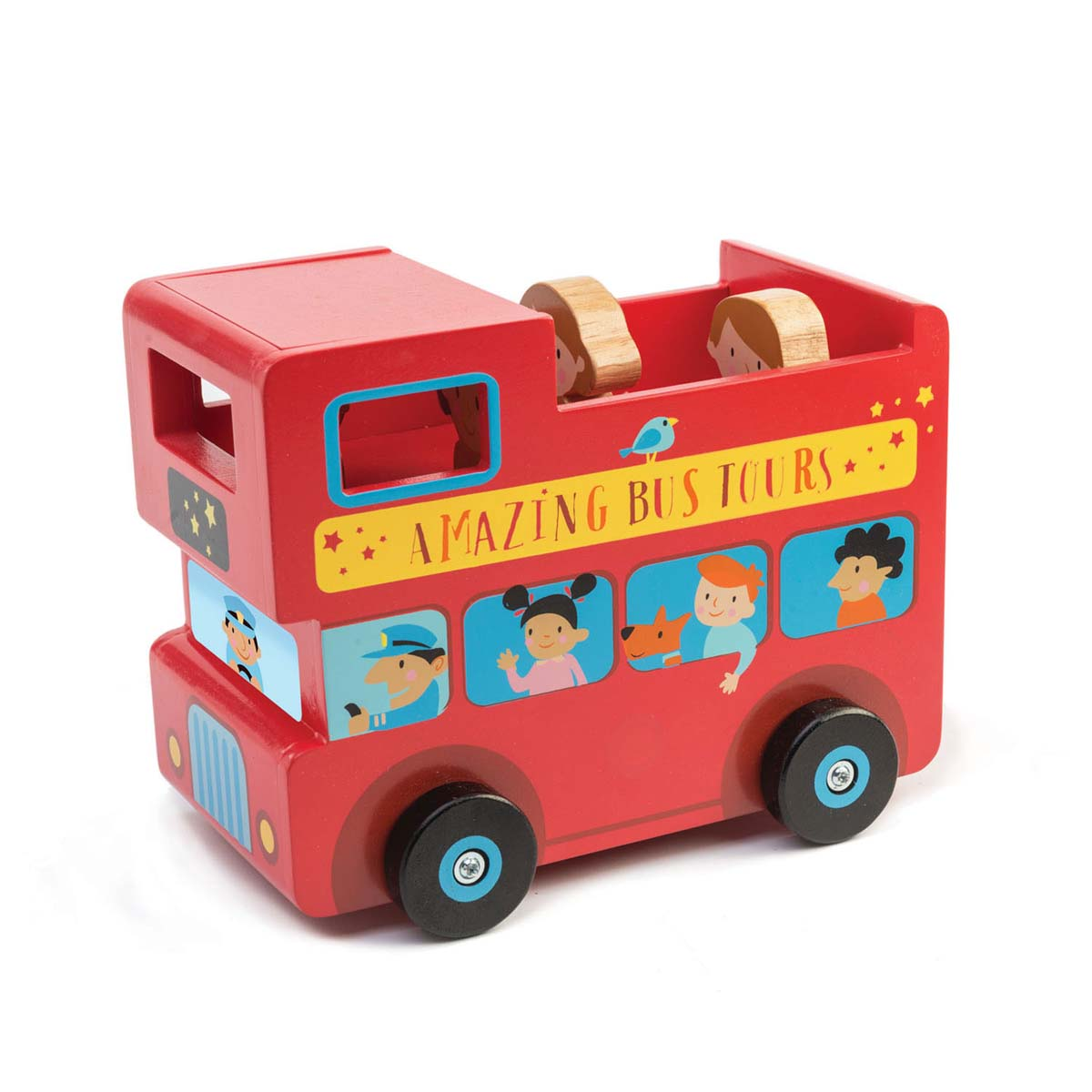 Tender Leaf London Bus Money Box