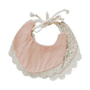 Billy Bibs Peach Bib