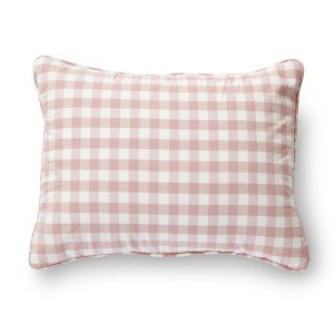 Petit Pehr Check Mate Nursery Pillow Blossom