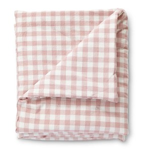 Petit Pehr CheckMate Toddler Blanket Blossom