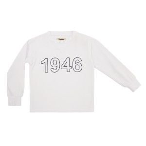 Nupkeet Prince Long Sleeve Tee in White