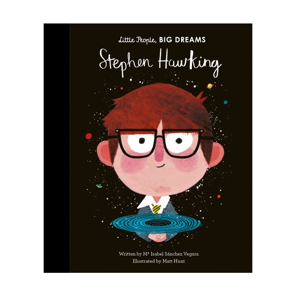 Little People, Big Dreams Book - Stephen Hawking