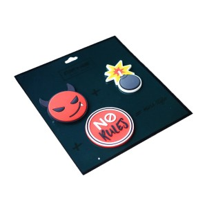 Light + Nine Backpack Patch Pin Set in No Rules
