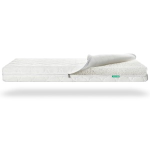 Newton Baby Crib Mattress Cloud White