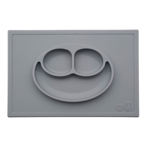 EZPZ The Happy Mat Suction Choose Colour Silicone Placemat /& Plate in One
