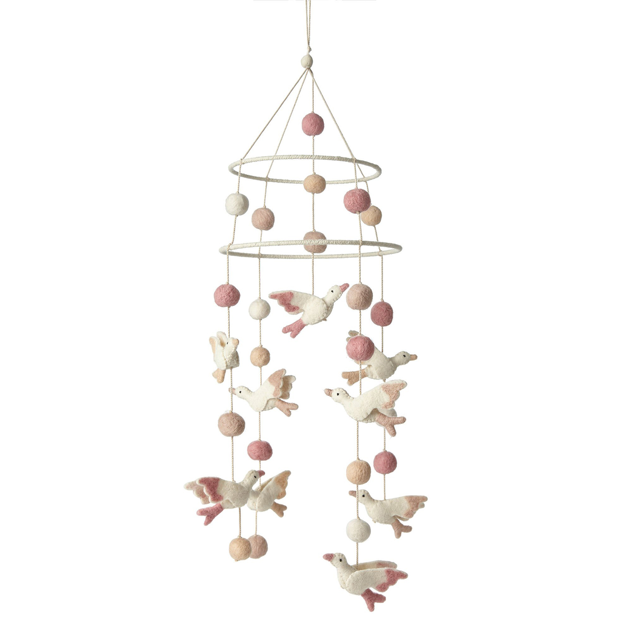 Petit Pehr Birds of a Feather 2 Tier Mobile