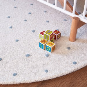 Petit Pehr Dotty Rug Round Sea