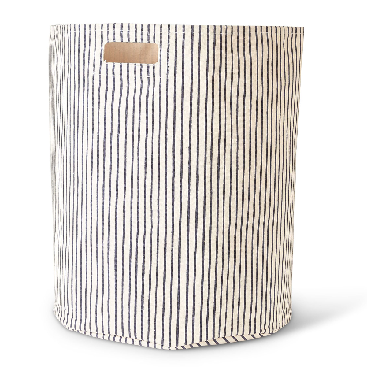 Petit Pehr Stripes Away Hamper Navy Blue