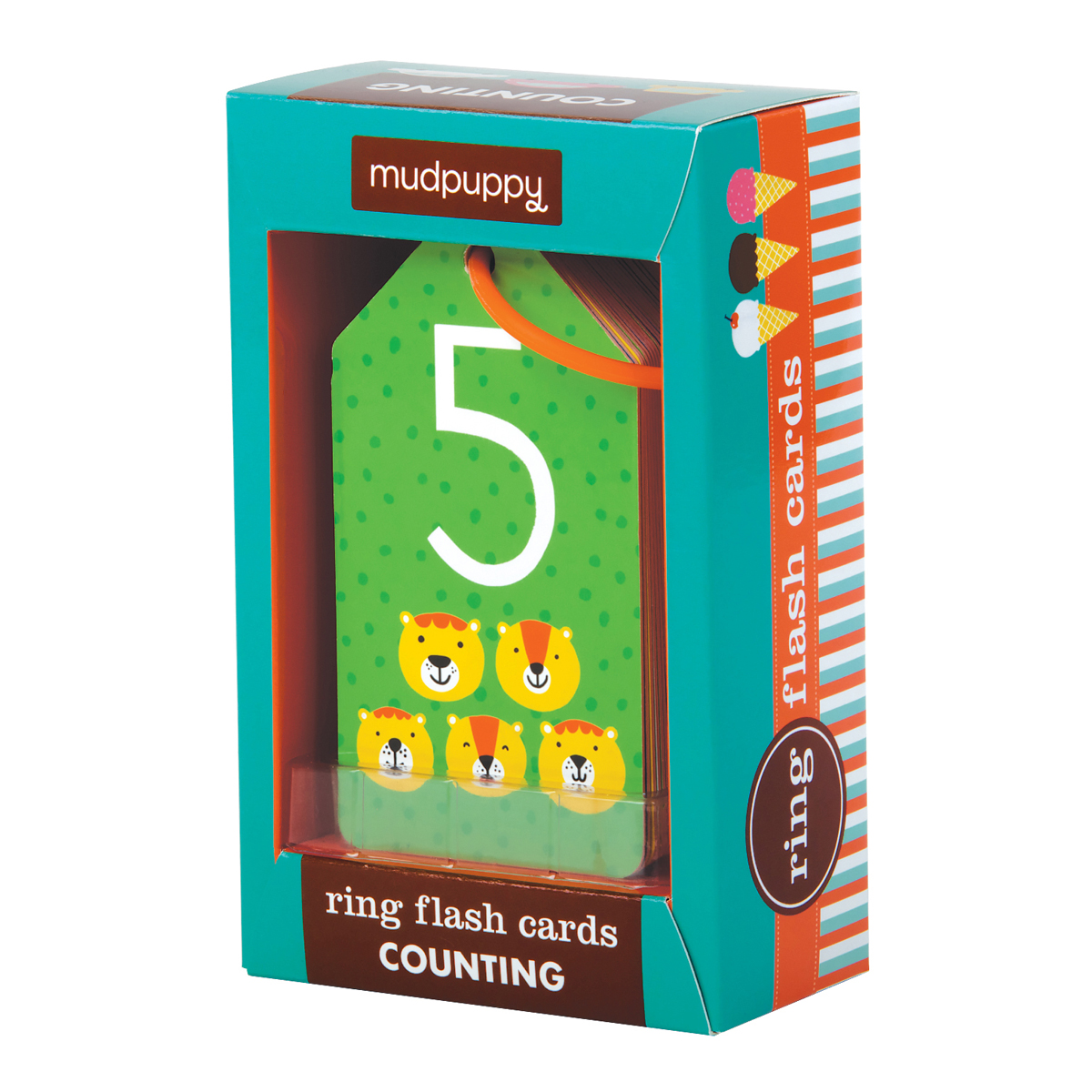 Mudpuppy Counting Ring Flashcards