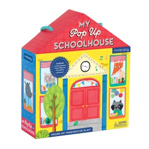 Mudpuppy My Pop Up Schoolhouse