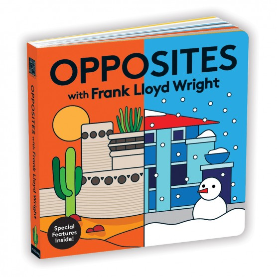 MudPuppy Opposites with Frank Lloyd Wright Board Books