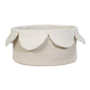 Lorena Canals Petals Basket in Natural