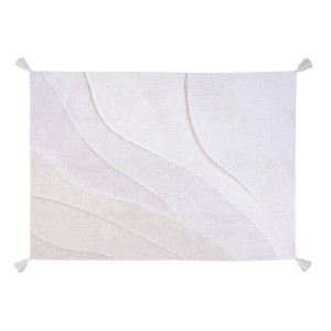 Lorena Canals Cotton Shades Rug in White