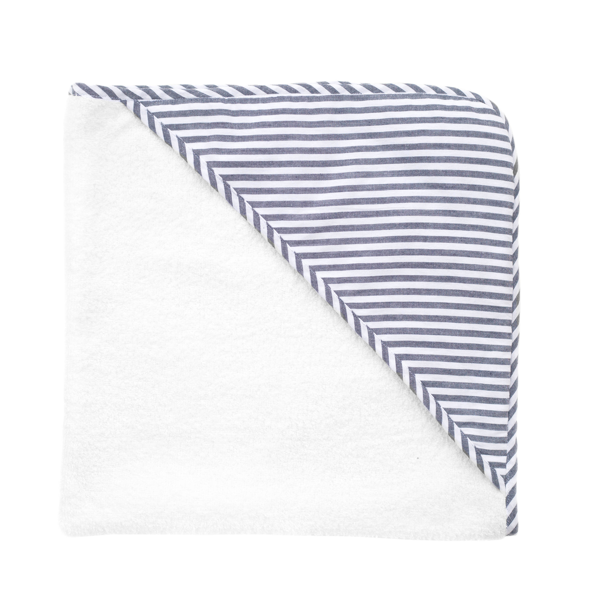 Louelle Hooded Towel in Harbor Island Blue