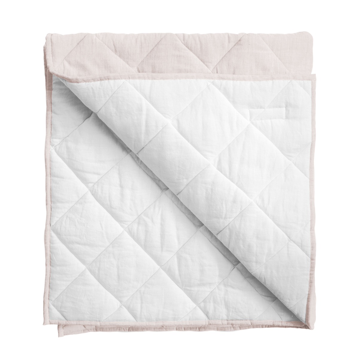 Louelle Play Mat/Quilt in Blossom Pink