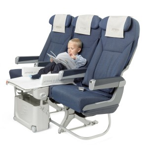 Jetkids by Stokke Exclusive BedBox in Light Grey with boy