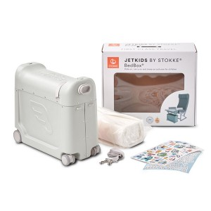 Jetkids by Stokke Exclusive BedBox in Light Grey