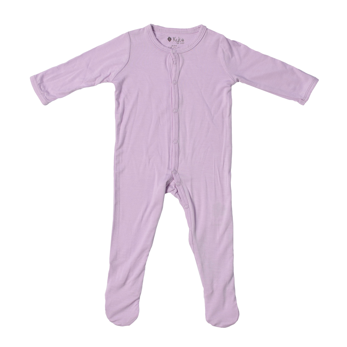 Kyte Baby Bamboo Solid Footie in Mauve