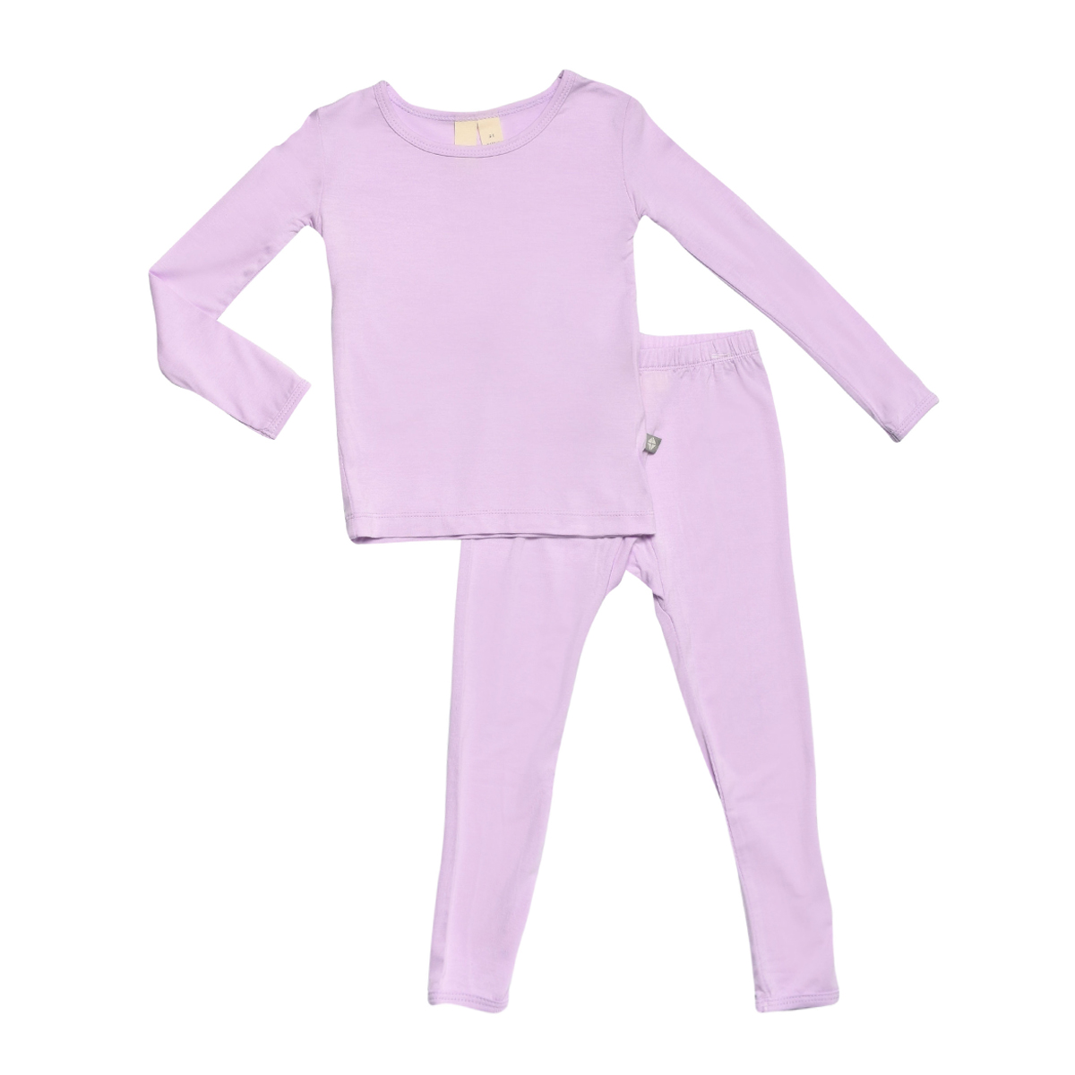 KYTE BABY Toddler Pajama Set Pjs for Toddlers Made of Soft Bamboo Rayon Material
