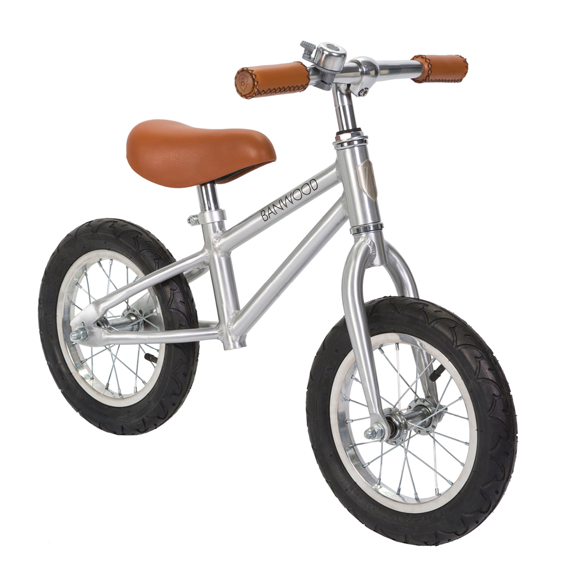 Banwood Bikes First Go! Balance Bike in Chrome