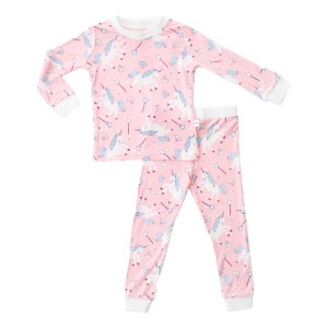 Little Sleepies PJ Set in Pink Unicorn