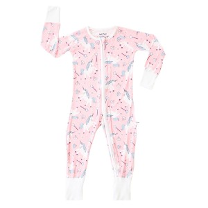 Little Sleepies Zip PJ Sleeper in Pink Unicorn