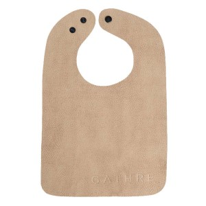 Gathre Vegan Leather Bib in Tannin Brown