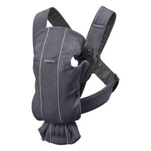 Baby Bjorn Baby Carrier Mini in Anthracite Mesh