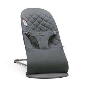 Baby Bjorn Bouncer Bliss in Anthracite Cotton