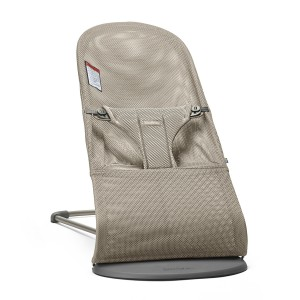 Baby Bjorn Bouncer Bliss in Greige Mesh