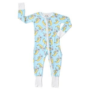 Little Sleepies PJ Sleeper in Banana Blue